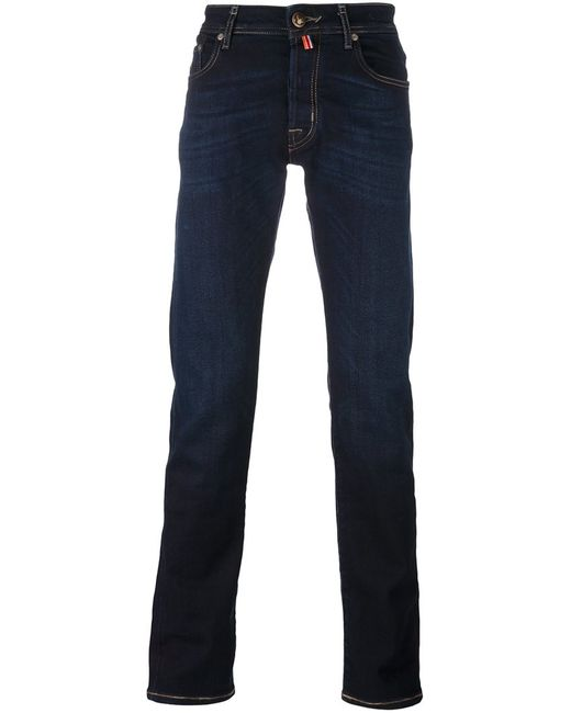 Jacob Cohёn | Мужское Синий Jacob Cohen Dark Wash Jeans 31 Cotton/Polyester/Spandex/Elastane