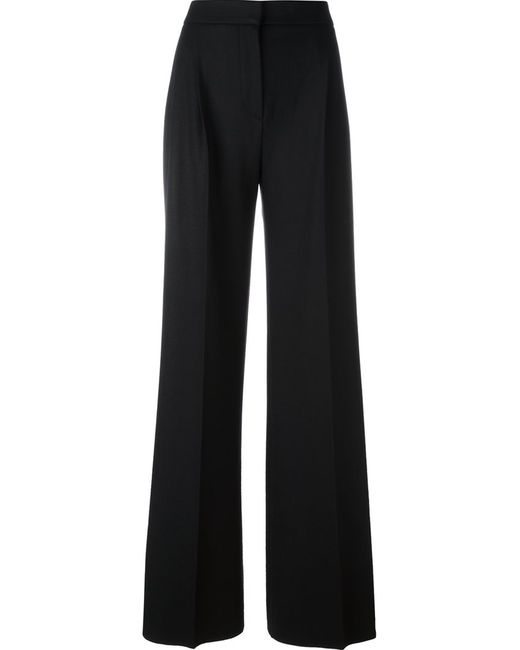 Max Mara | Женское Чёрный Glauco Trousers 36 Virgin Wool