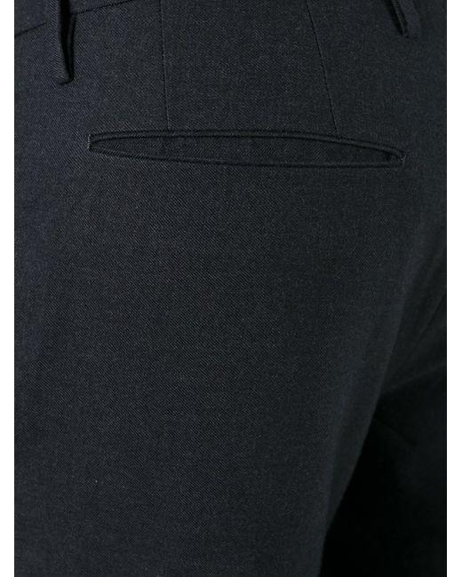 Incotex | Мужское Серый Pence Trousers 50 Cotton/Wool