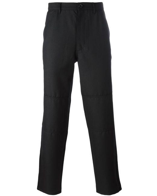 Comme Des Garcons | Мужское Чёрный Comme Des Garçons Shirt Straight-Legged Trousers Large