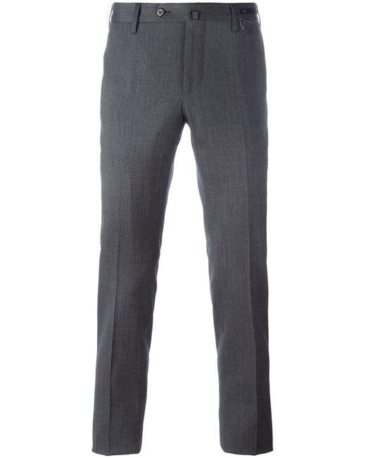 Pt01   Мужское Серый Skinny Fit Trousers 54 Spandex/Elastane/Virgin Wool