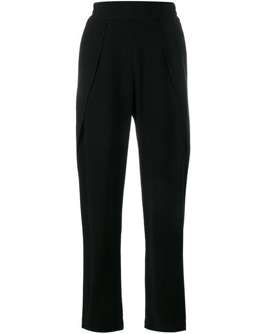 Jonathan Simkhai | Женское Чёрный Split Detail Crepe Trousers 4 Polyester/Acetate