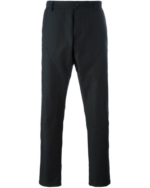OAMC | Мужское Чёрный Pleated Tapered Trousers 32 Polyester/Cupro/Virgin Wool