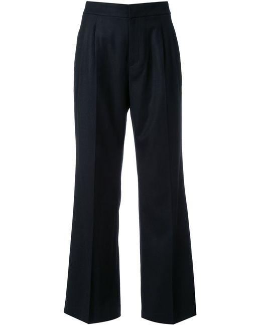 LOVELESS   Женское Чёрный Flared Trousers 34 Wool
