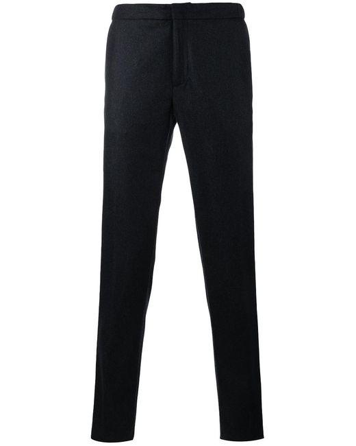 Incotex | Мужское Синий Straight Leg Trousers 54 Wool