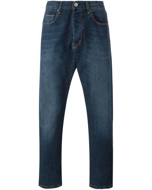C.P. Company   Мужское Синий Cp Company Regular Fit Jeans 33 Cotton/Polyester/Spandex/Elastane