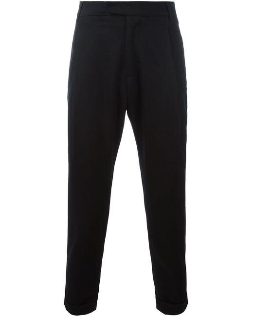 Barena | Мужское Чёрный Classic Tapered Trousers 50 Spandex/Elastane/Virgin Wool