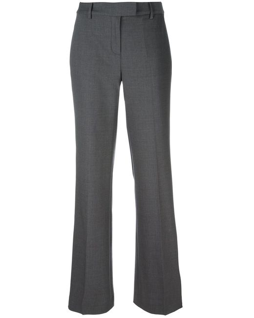 Michael Michael Kors | Женское Серый Flared Trousers 4 Spandex/Elastane/Wool