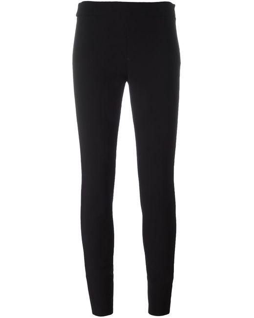 Proenza Schouler   Женское Чёрный Skinny Trousers 2 Spandex/Elastane/Wool