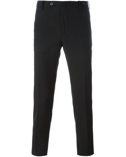 Pt01 | Мужское Чёрный Skinny Trousers 48 Polyester/Spandex/Elastane/Wool