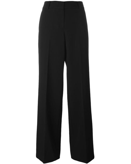 DKNY | Женское Чёрный Wide Leg Tailored Trousers 2 Wool