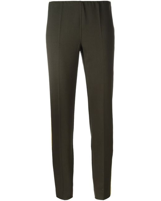 P.A.R.O.S.H. | Женское Зелёный Lily Trousers Medium Spandex/Elastane/Virgin Wool