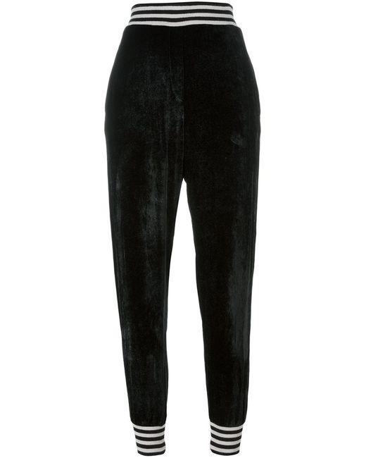 Nude | Женское Чёрный Tapered Regular Length Trousers 40 Silk/Acrylic/Viscose/Wool