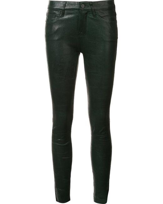 Frame Denim | Женское Зелёный Le Skinny De Jeanne Trousers 28