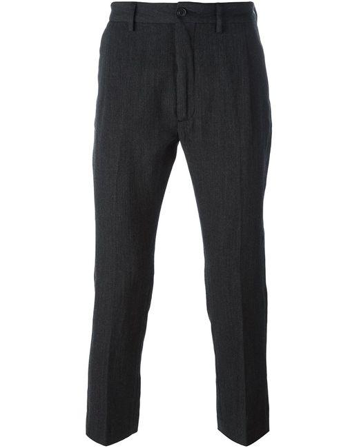 Pence | Мужское Серый Efrem Trousers 46 Linen/Flax/Polyester/Virgin Wool