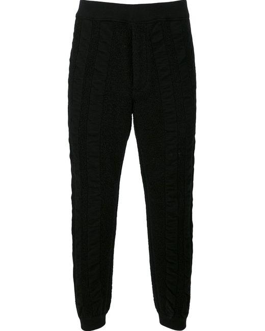 Issey Miyake | Мужское Чёрный Men Wave Pile Joggers 1 Wool