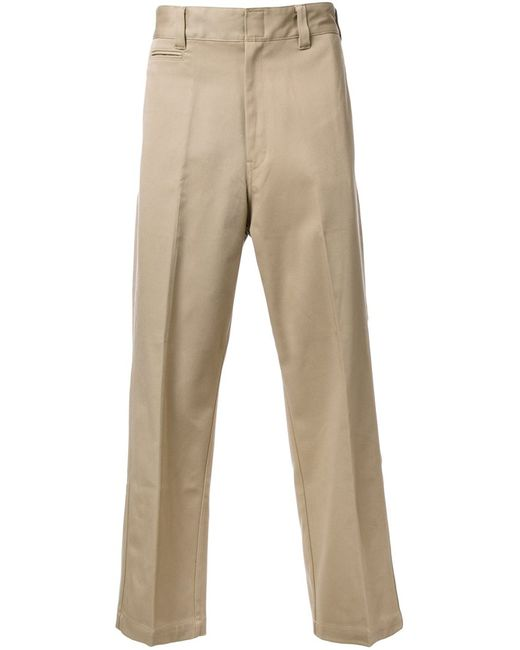 Mr. Gentleman | Мужское Коричневый Mrg Ex Chino Trousers Xxl Cotton/Polyester/Polyurethane