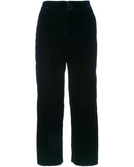 Cityshop   Женское Синий Cropped Trousers 38 Polyurethane/Cupro/Rayon