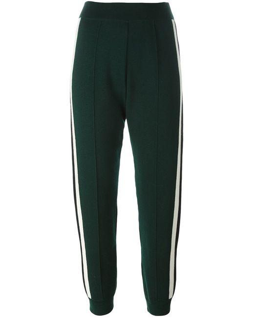 Marni | Женское Зелёный Knitted Trousers 38 Virgin Wool