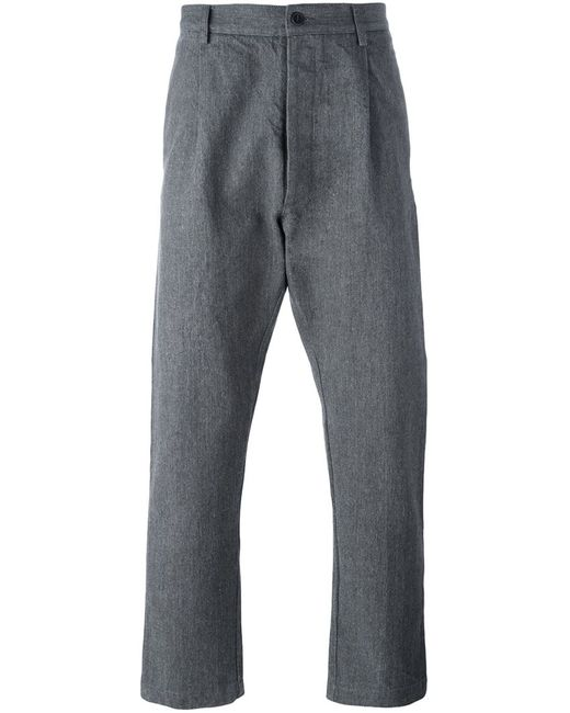 Sunnei | Мужское Серый Loose-Fit Trousers Medium Cotton