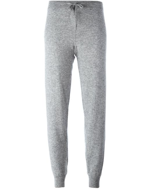 Chinti And Parker | Женское Серый Vertical Stripe Track Pants Small