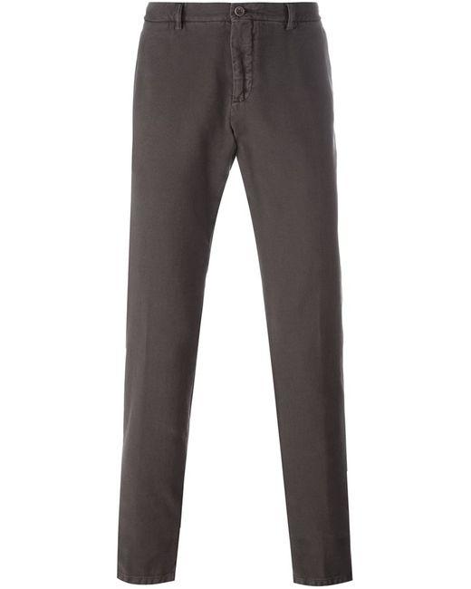 Etro | Мужское Коричневый Chino Trousers 48 Cotton/Cashmere