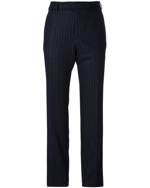 A.F.Vandevorst | Женское Синий Pinstripe Slim-Fit Trousers 34 Wool