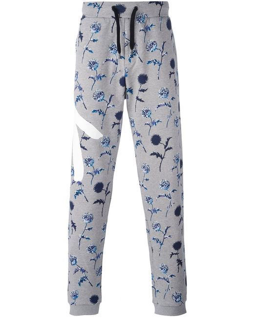 Kenzo | Мужское Серый Dandelion Track Pants Small Cotton
