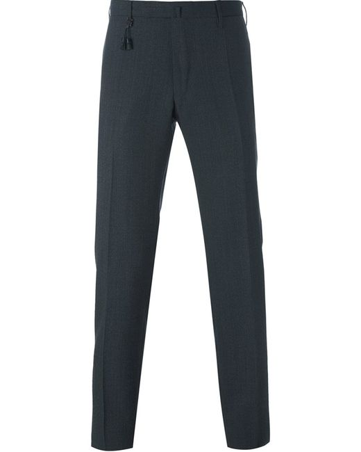 Incotex | Мужское Серый Tailored Trousers 48 Wool
