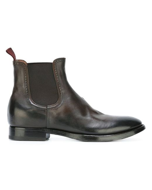 Silvano Sassetti | Мужское Коричневый Chelsea Boots 6 Leather/Rubber