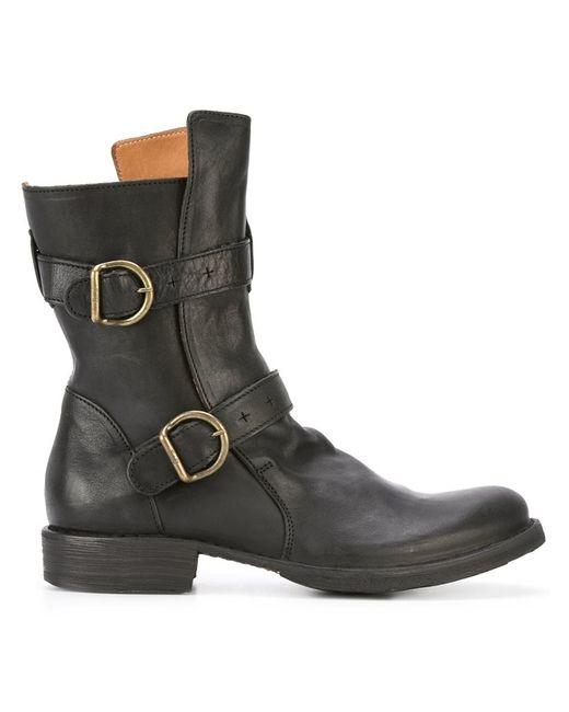 Fiorentini+Baker | Женское Чёрный Fiorentini Baker Eternity 713 Boots 39 Leather/Rubber