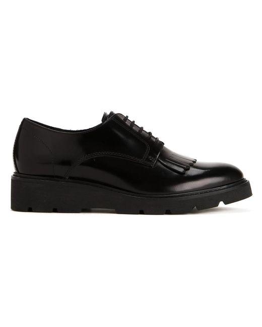 P.A.R.O.S.H. | Женское Чёрный Lace-Up Shoes 41 Leather