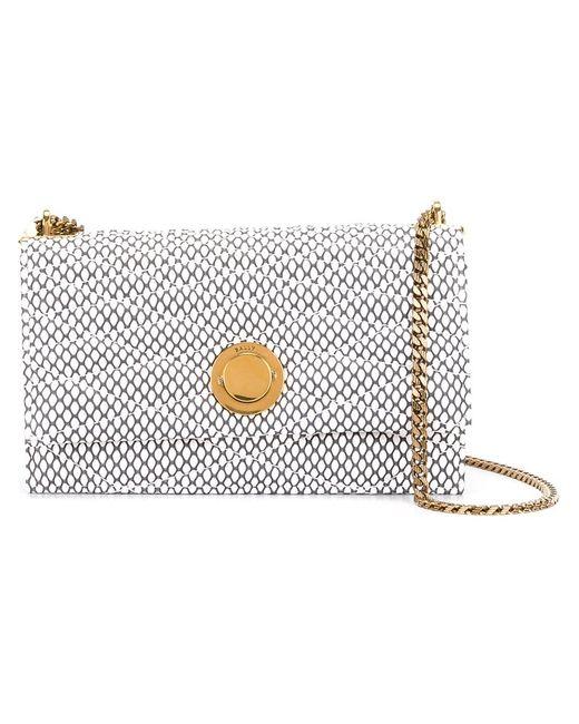 Bally   Женское Белый Extra Small Eclipse Shoulder Bag