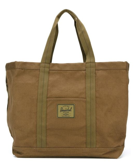 Herschel Supply Co. | Зелёный Wide Tote Bag Adult Unisex Cotton/Polyester
