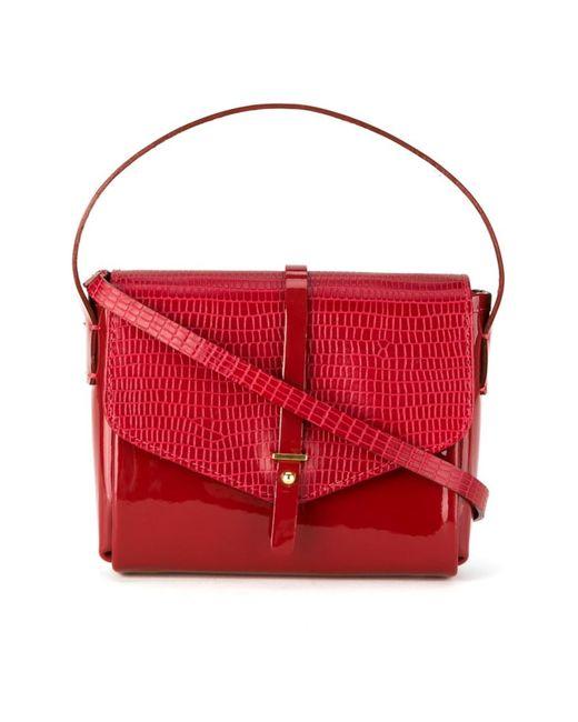 Sarah Chofakian | Женское Красный Leather Crossbody Bag