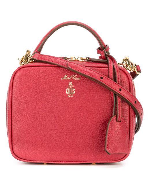 Mark Cross   Женское Красный Laura Crossbody Bag