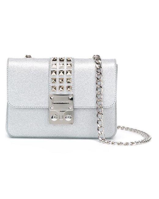 Designinverso | Женское Серебристый Amalfi Shoulder Bag