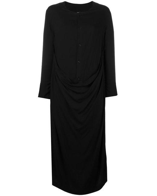 NOCTURNE 22 | Женское Чёрный Nocturne 22 Drape Front Dress Rayon