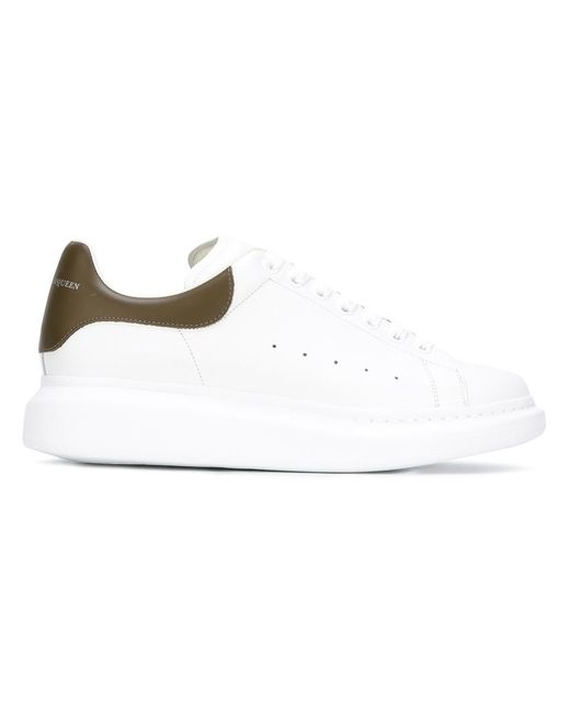 Alexander McQueen | Мужское Белый Extended Sole Sneakers 39.5 Leather/Rubber/Calf Leather