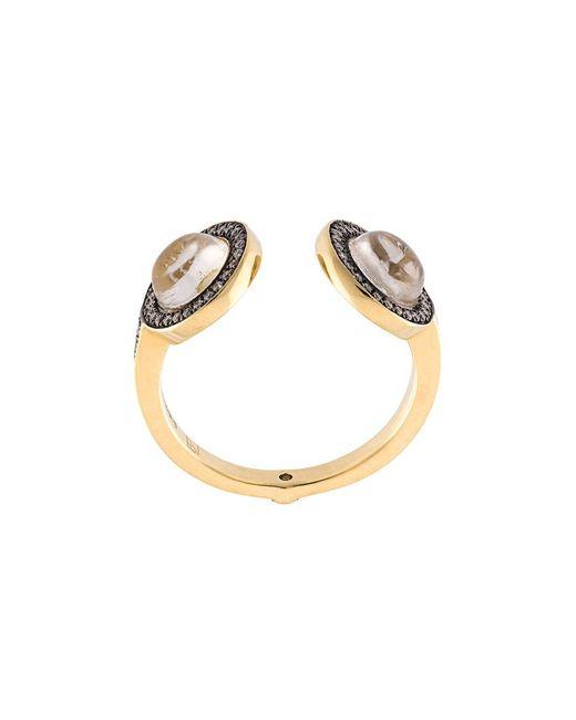 Noor Fares | Серебристый Cuff Ring 52
