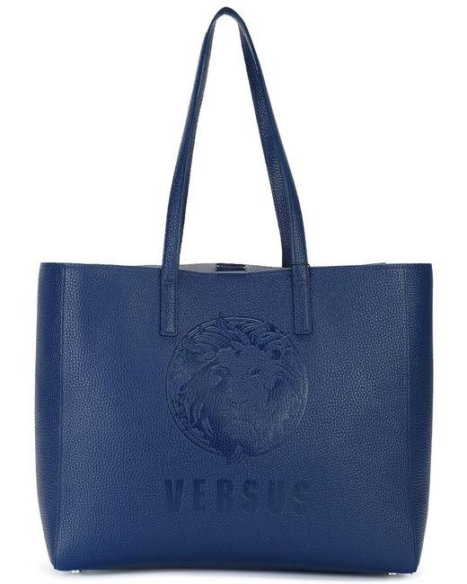 Versus | Женское Синий Large Double Straps Tote
