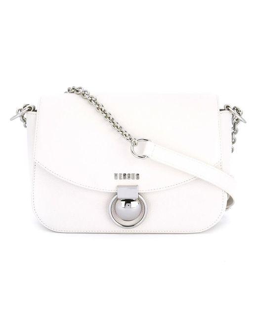 Versus | Женское Белый Chain Strap Shoulder Bag