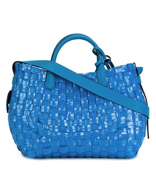 Ermanno Scervino | Женское Синий Interlaced Tote Pvc/Leather