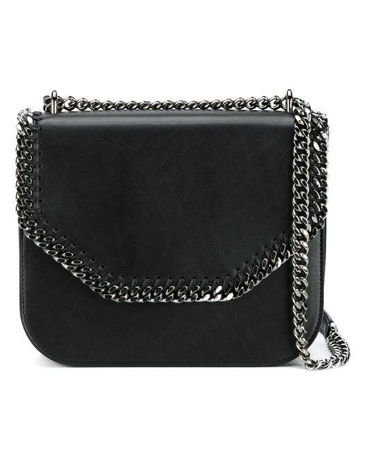 Stella Mccartney   Женское Чёрный Falabella Box Shoulder Bag Metal/Artificial Leather