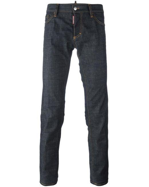 Dsquared2 | Мужское Синий Slim Jeans 52 Cotton/Spandex/Elastane