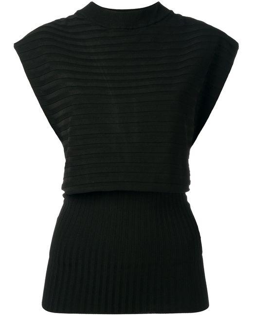 Erika Cavallini | Женское Чёрный Easter Knitted Blouse 42 Polypropylene