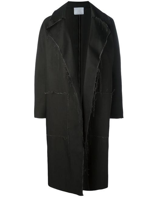 CHARLIE MAY   Женское Чёрный Raw Kimono Coat Size