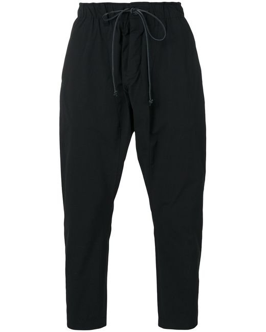ATTACHMENT | Мужское Чёрный Tapered Cropped Trousers Ii