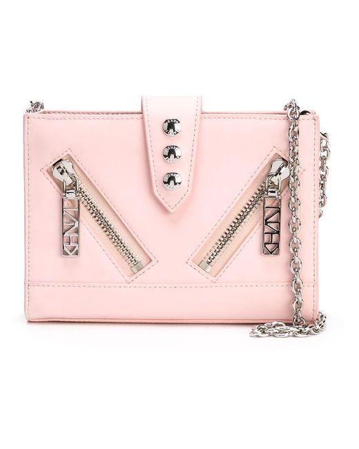 Kenzo | Женская Розовая Сумка-Кошелек Через Плечо Kalifornia