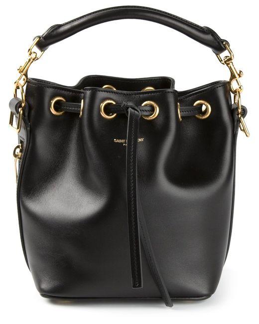 Saint Laurent | Женское Чёрный Small Emmanuelle Bucket Bag